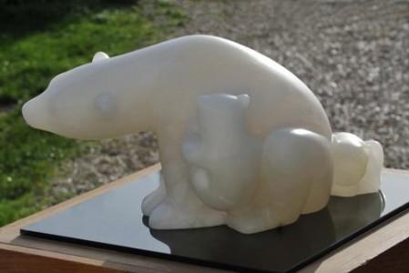 Sculpture Partage de Dominique Rivaux