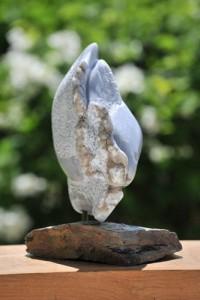 queue du poisson - sculpture de Dominique Rivaux