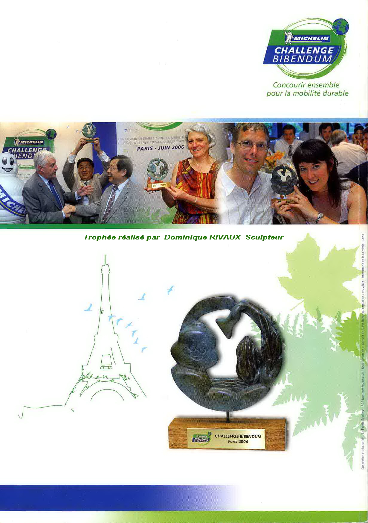 Trophée MICHELIN - 2006 catalogue - Dominique Rivaux
