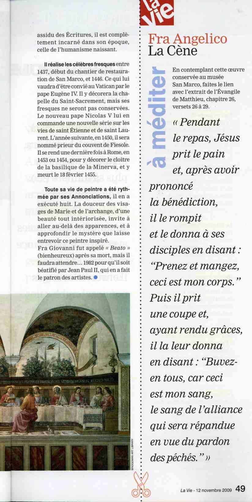 Article de   Martine PERRIN -Dominique Rivaux - Sculpter est ma prière Sculpter est ma prière