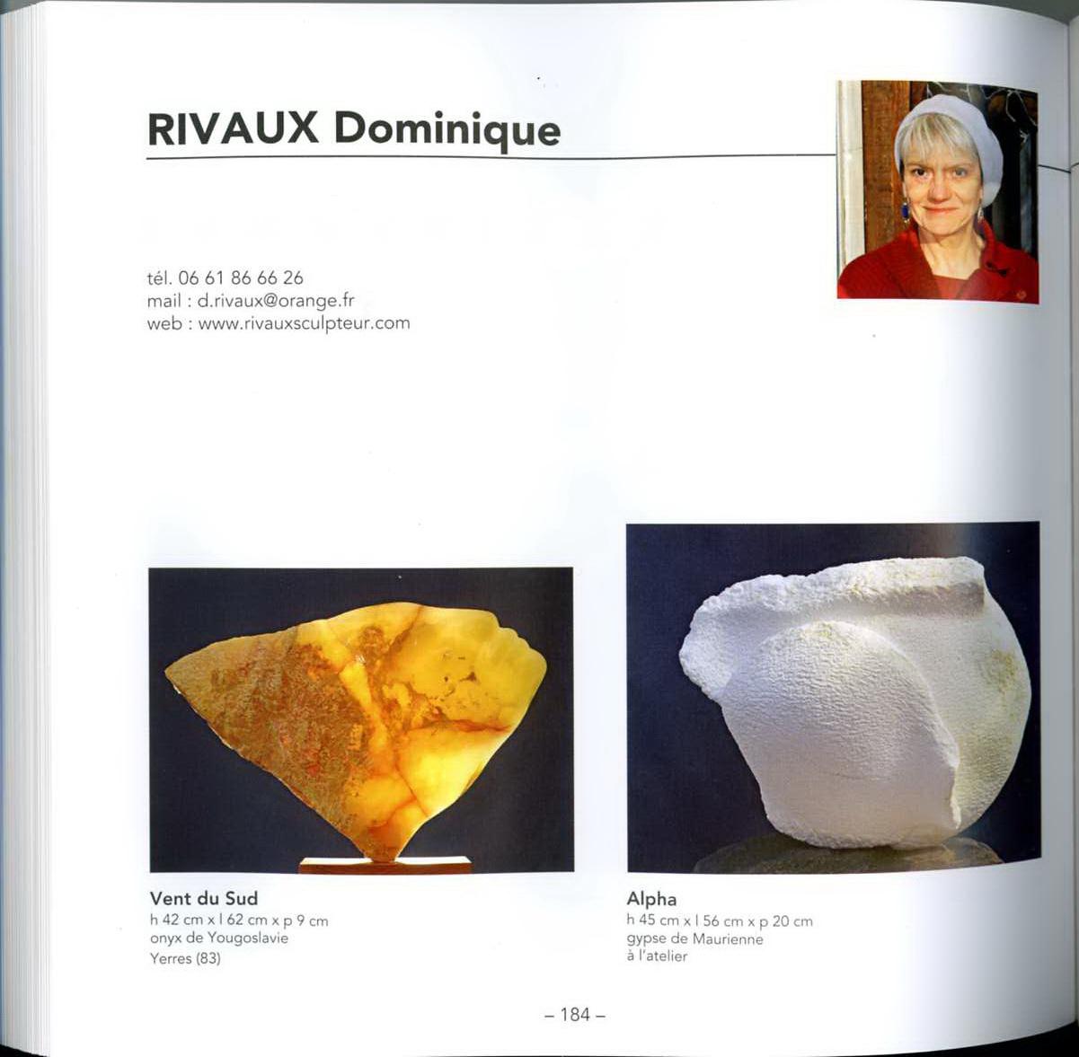 """Catalogue des """"Sculpteurs et Plasticiens du 21e Siècle"""" - 2013"""
