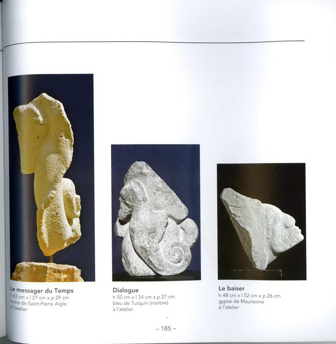 """Catalogue des """"Sculpteurs et Plasticiens du 21e Siècle"""" - Dominique Rivaux"""