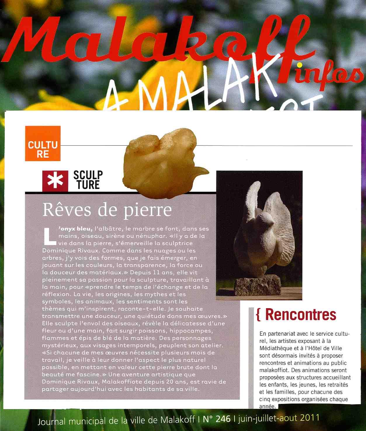 Article - Mairie de Malakoff - Malakoff Infos 2011