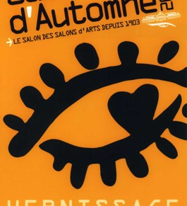 Vernissage Salon d'Automne- Champs Elysées Paris - Mercredi 12 octobre 2016 de 18h à 22h ouvert du jeudi 13 au 16 octobre 2016 de 11h à 19h