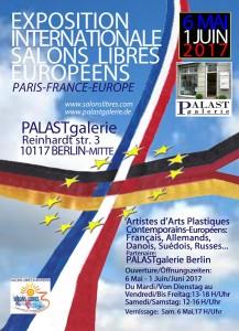 Berlin Palast Galerie - Salons Libres Europeens 2017