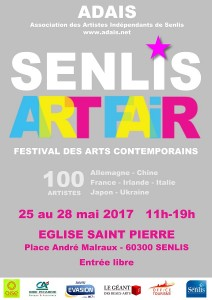 Affiche Senlis Art Fair2017