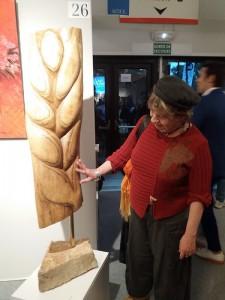 QUAND LE BLÉ - sculpture de Dominique Rivaux - Salon d'Automne