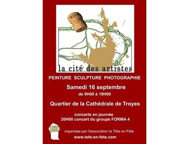 La Cité des Artistes 2017 à Troyes