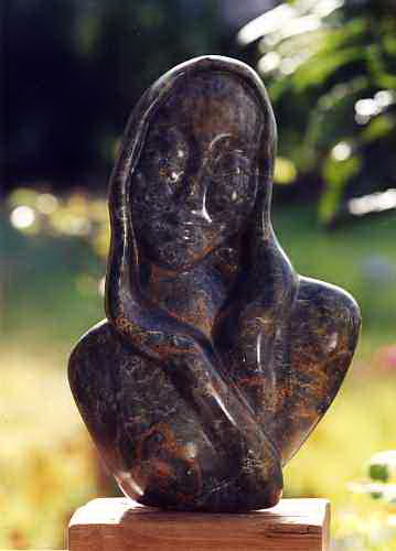 grâce - la Vierge - visage femme - Dominique Rivaux