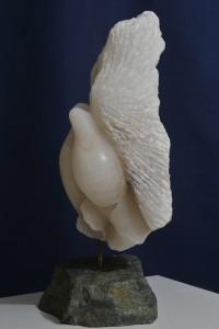 Sculpture de colombe de Dominique Rivaux