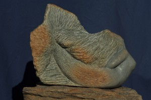sirène - femme-poisson - sculpture de Dominique Rivaux