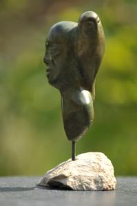 sculpture Jour et Nuit - femme oiseau
