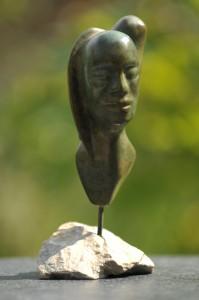sculpture de Dominique Rivaux Jour et Nuit