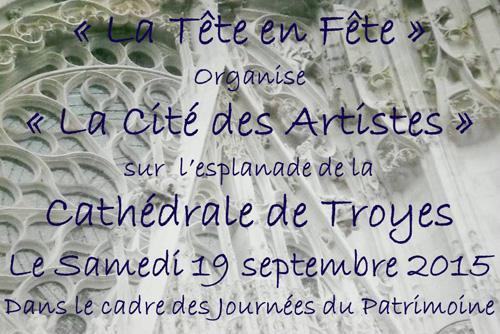 Cités des artistes - Cathédrale de Troyes - Sculpteur - Dominique Rivaux