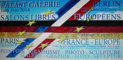 Salons Libres Europeens - Berlin - Rivaux Dominique