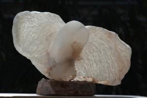 oiseau chouette - hibou - sculpture de Dominique Rivaux