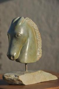sculpture de pégase - cheval mythologique