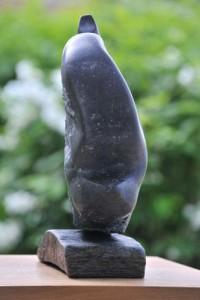sculpture d'éléphant - jeune éléphant - éléphanteau de Dominique Rivaux