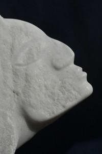 le baiser - sculpture de Dominique Rivaux
