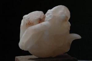 Le Chant des Sirènes sculpture en Albâtre de Saragosse