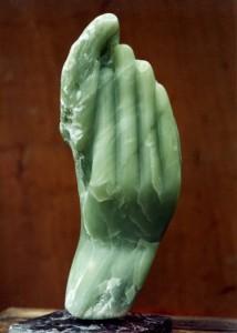 Prométhée de Dominique Rivaux - mains - flammes