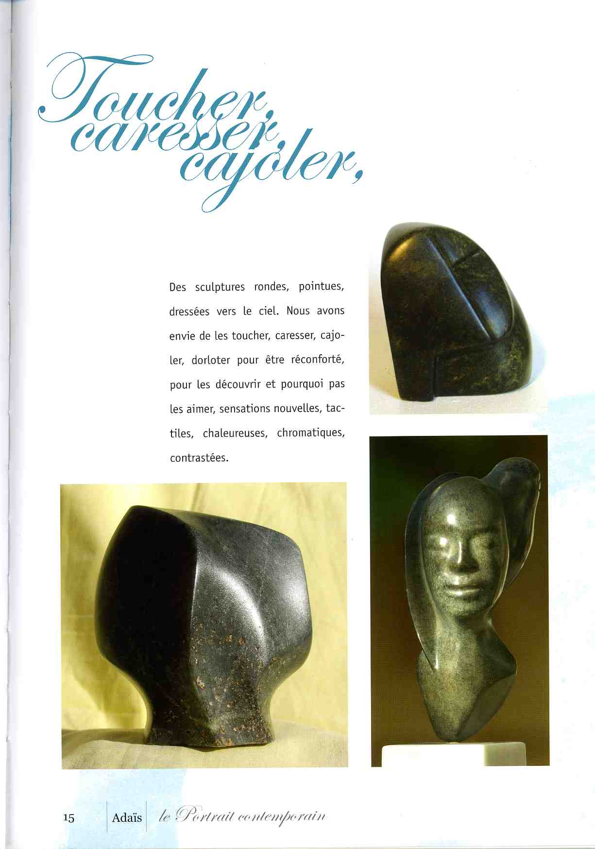 Adaïs - le Portrait contemporain - 2006 - Catalogue