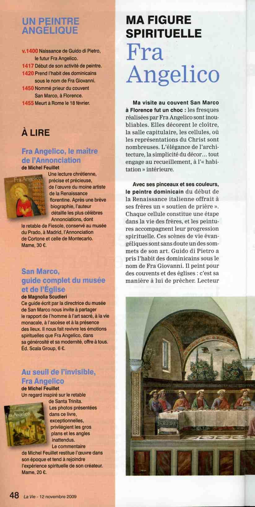 """Dominique Rivaux - Sculpter est ma prière Sculpter est ma prière - Article de """"La Vie"""" par Martine PERRIN"""