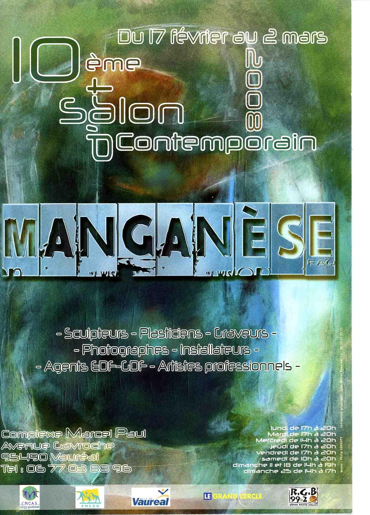 Salon Manganèse à Vauréal (95) en 2008