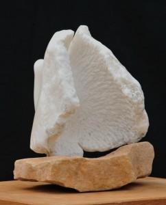 Colombe - oiseau - sculpture de Dominique Rivaux