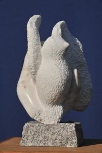 Sculpture de Dominique Rivaux - colombe