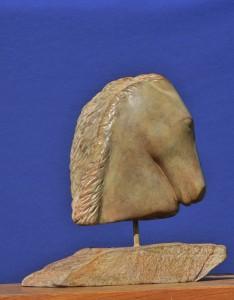 Sculpture de pégase - cheval de Dominique Rivaux