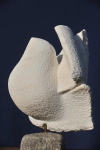 Roucoulade - sculpture de Dominique Rivaux