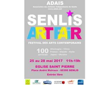 Affiche Senlis Art Fair