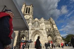 Cathédrale dans le quartier du Bouchon - Troyes
