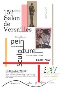 AFFICHE du 152ème Salon de Versailles
