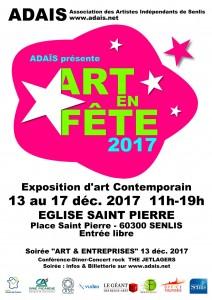 Evenement SENLIS ART EN FETE 2017