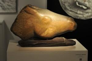 Sculpture Promenade - tête de cheval
