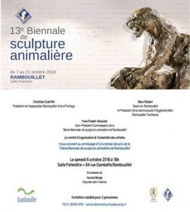 Invitation Vernissage Rambouillet