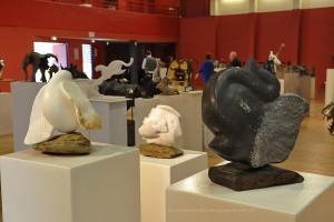 Sculptures de Dominique Rivaux - 13e Biennale de Sculpture Animalière