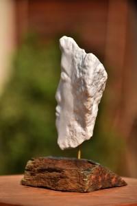 Sculpture en marbre de Dominique Rivaux - mythologie