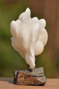 Sculpture de Dominique Rivaux Sereine multitude