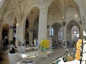 Artfair à Senlis - Eglise Saint Pierre