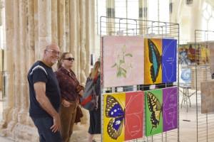 Exposition pendant le Festival d'Art Sacré de Senlis