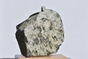 Sculpture de Dominique Rivaux - à travers le feuillage