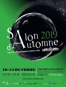Affiche du Salon d'Automne 2019 - Paris