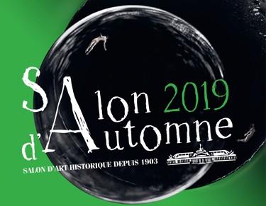 Salon d'Automne 2019 Paris - affiche