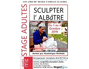 Stage pour les adultes - Sculpteur l'Albâtre - Dominique Rivaux