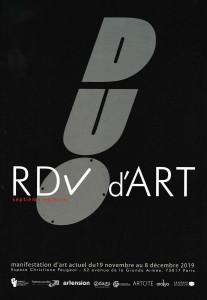 Affiche RDV d'ART Paris 17eme