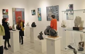 Exposition de Dominique Rivaux et Sophie Chauchat à l'Espace Christiane Peugeot Paris