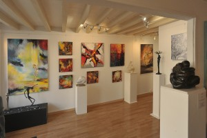 Galerie Roz et Winkler à Barbizon - sculpteur Dominique Rivaux